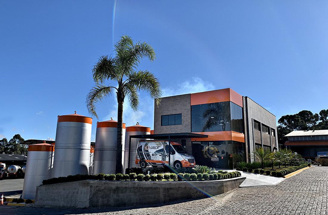 Novo Centro de Pesquisas, Desenvolvimento e Inovação GRECA Asfaltos